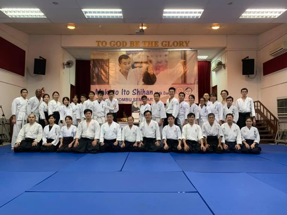 Annual Hombu Seminar 2019